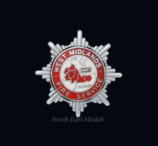 West Midlands Fire Brigade Cap Badge
