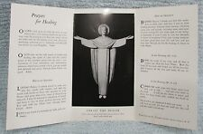 Trinity Lutheran Church Christ The Healer Prayers For Healing Pamphlet FREE S/H
