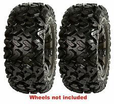 (2) New Sedona 26x11-12 26-11-12 Rip Saw 6-Ply Rear Radial ATV / UTV Tires