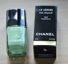 Chanel Le Vernis Nail Colour 767 Fraicheur with beautiful green shimmer LE RARE
