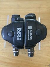 VTG Pair LOOK Pedals Clipless 9/16 Black Road
