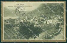 Brescia Valle Sabbia Anfo PIEGHE cartolina QK6969
