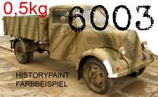 RAL6003 ASCHGRÜN 0,5kg (24,98€/kg) FARBE OLIVGRÜN WEHRMACHT 1937-1945 KDF LACK