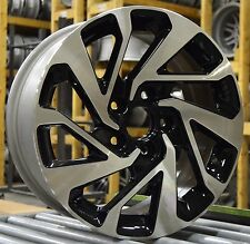 "16"" Honda Civic EX 2016 2017 Factory OEM Rim Wheel 64095 Black Full Set"