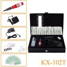 Top Pro Permanent Makeup Machine Tattoo Kit Red Dragon Machine Pen Power Supply