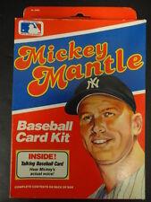 1989 Mickey Mantle Baseball Card Kit NIB