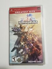 Final Fantasy Tactics: War of the Lions PSP New Sony PSP
