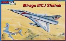MIRAGE III CJ SHAHAK JET FIGHTER (ISRAELI DF MARKINGS)#10 1/72 AML/RV AIRCRAFT