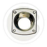 bocchetta cromata CR per serratura di sicurezza bocchette con incavo