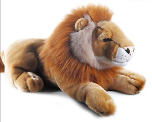 Plush & Company 05844  Peluche Leone Wild Jungle - L.50 cm -  lion