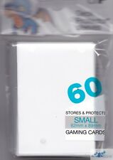 60 ULTRA PRO YUGIOH CARDFIGHT WHITE DECK PROTECTORS CARD SLEEVES