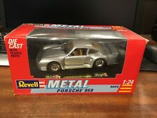 Revell Metal #8604 1/24 Scale Porsche 959 - Boxed
