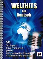 Keyboard Noten : Welthits auf Deutsch - 50 Schlager Coverversionen (+ B-Stimme)