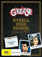 Grease - John Travolta, Olivia Newton John (DVD, New & Sealed, Region 4) gf2
