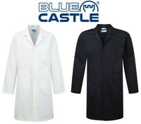 Blue Castle - Heavy Duty Polyester Cotton - Warehouse Lab Coat XS,S,M,L,XL,XXL