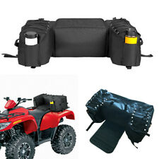 ATVs Rear Cargo Bag Storage Padded Seat Bottom Support Rack Box Durable Straps