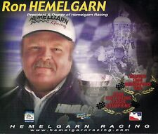 FORMER WINNING INDY 500 OWNER RON HEMELGARN PHOTO CARD -1996 INDY 500 WINNER