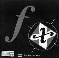 """FAITH,HOPE & CHARITY - F.X. - PS - 80's - 7"""" VINYL"""