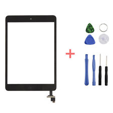 Digitizer Glass Touch Screen Replacement + Home For Apple iPad mini 1 2 Black