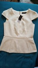 Dorothy Perkins Ivory Top Size 12
