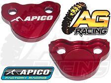 Apico Rojo Freno Trasero Cilindro Maestro Cubierta Para Honda Crf 250x 2004-2012 04-12