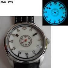Uhr mit Leuchtzifferblatt und ungewöhnlicher Anzeige der Zeit: UNISEX; #KWT8W2