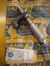 NOS Yamaha OEM Change Shaft Assembly 2 1977 YZ100 1J4-18102-01