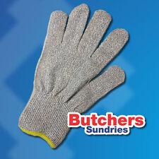 XL Short Cuff Yellow Butchers Fisherman's Filleting Glove Fiberglass&HHPE Fibres