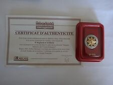 French Army 8eme RA Insignia Metal Badge + Certificat D'Authenticite + Box