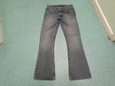 "Ralph Lauren Bootcut Jeans Waist 29"" Leg 34"" Faded Dark Blue Ladies Jeans"