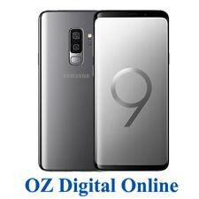 "NEW Samsung Galaxy S9+ Plus G965 64GB +128GB Grey 12MP 4G 6.2"" Unlocked Phone"
