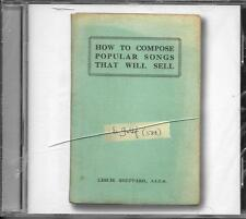 CD 10T BOB GELDOF HOW TO COMPOSE POPULAR SONGS THAT WILL SELL 2011 NEUF SCELLE