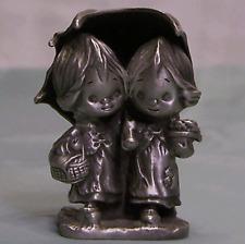 Hallmark Little Gallery Betsey Clark Friendship is Miniature Pewter Figurine 77