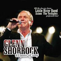 GLENN SHORROCK 45 Years Of Song 2CD NEW DIGIPAK