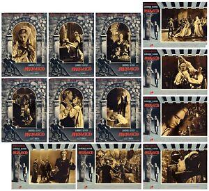 AMLETO FOTOBUSTE 10 PZ WILLIAM SHAKESPEA LAURENCE OLIVIER 1948 HAMLET LOBBY CARD