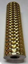 Gold Mirror Lens Sign Vinyl 24 X 10ft Roll Longlife