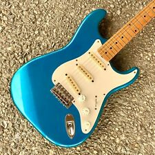 1980s Fender Japan Stratocaster Squier - Lake Placid Blue 1957 Spec MIJ Tex Mex