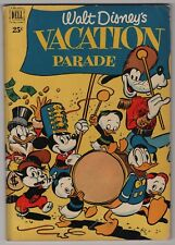 Dell Giant Vacation Parade #2 solid 116-page 1951 Disney create-a-lot & save