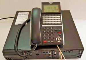 NEC SV9100 ph system w 6x DTZ-24D-3A(Bk) tel  12 months w/ty Tax inv