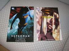 SUPERMAN RETURNS LE ORIGINI DC OMNIBUS PLANETA DELUXE BATMAN CAVALIERE OSCURO