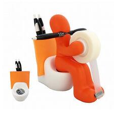 Kito Design Butt Station Orange Tape Pen Holder Office Desk Organizer Funny Gift