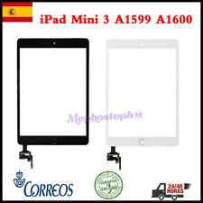 Pantalla Para iPad Mini 3 A1599 A1600 Táctil Touch Digitalizador Screen+Botón+IC