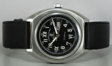 Vintage Favre Leuba Duomatic Auto Day Date Mens Swiss d4 Wrist Watch Old Used