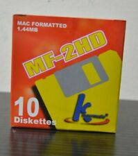 KHYPERMEDIA MF-2HD MAC FORMATTED 1.44MB 3.5 FLOPPY DISKS 10 Disks