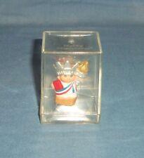 1999 Hallmark Merry Miniatures Figurine Statue of Liberty Usa New York Patrotic