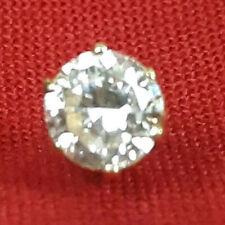 Single 14kt Gold .20 Carat Diamond Stud Earring