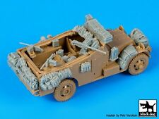 Black Dog 1/72 M3 (White) Scout Car Accessories Set WWII (for Italeri) T72074