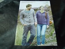 Hayfield 7065 Caribbean Knitting Pattern Booklet Shimmer DK Lacy Summer Sweaters
