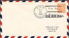 Tug USS WANDANK AT-26 COMMISSIONING 1935 Fancy Cancel Naval Cover (1271)
