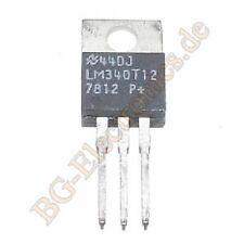 2 x lm340t-12 12 Volt 3-pin positivo fisso Regolatore di tensione NS to-220 2pcs